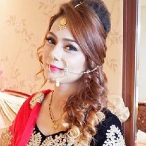 Makeup Pengantin India